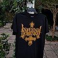 "Infernal Dominion ""Embrace Thy Befallen Misery"" shirt"