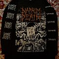 """Napalm Death """"From Enslavement To Obliteration"""" longsleeve TShirt or Longsleeve"""