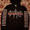 """Dying Fetus """"Cemetery"""" hoodie Hooded Top"""