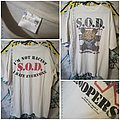 S.O.D. - Speak English Or Die (White) T-Shirt