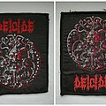 Deicide - Self Titled Patches
