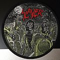 SLAYER - Live Undead Circle Patch (Green)