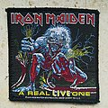 Iron Maiden - Patch - Iron Maiden - A Real Live One Patch
