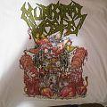 Municipal Waste shirt. Feat. my shadow