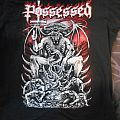 """Possessed """"Evil Over Europe 2016"""" shirt"""