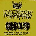 """AGATHOCLES / GRIND BUTO - Poisonous Profit / The Malevolent (7""""EP, promo, lim. 50)"""