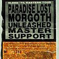 Bleed 'til Eastern Tour 1992 (ticket)