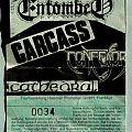 Gods Of Grind Tour 1992 (ticket, signed)