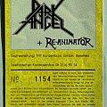 DARK ANGEL / DEMOLITION HAMMER - Berlin (Ecstasy), March 22nd, 1991 (ticket)