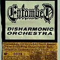 Entombed - Other Collectable - ENTOMBED - Clandestine Tour 1992 (ticket)