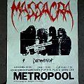 MASSACRA / DESECRATOR - Metropool, 12 Oktober