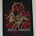 SLAYER - Hell awaits (woven) Patch