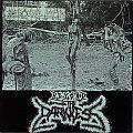 """Necrophiliacs - Tape / Vinyl / CD / Recording etc - NECROPHILIACS / LEUCEMIE - Beyond the Darkness / Knusper Knusper Knäuschen (7""""..."""