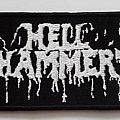 HELLHAMMER - Logo (bootleg, embroidered)