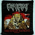 CANCER - The Sins of Mankind (woven)