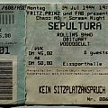 Sepultura - Other Collectable - Chaos AD - Scream Night '94 (ticket)