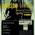 Deicide - Other Collectable - Bash - Easter Festival 1995 (ticket)