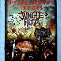 JUNGLE ROT - European Blitzkrieg Campaign Tour 2009 (poster, signed)