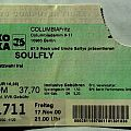 SOULFLY - Primitive Tour 2000 (ticket)
