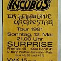 Godz Of Thunder Tour 1991 (ticket)