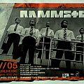 RAMMSTEIN - Reise, Reise Tour 2005 (ticket)