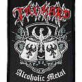 TANKARD - Alcoholic Metal (woven) Patch