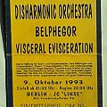 DISHARMONIC ORCHESTRA - Not To Be Undimensional Conscious 1993 (ticket)