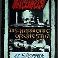 INCUBUS / DISHARMONIC ORCHESTRA - Godz of Thunder Tour 91 (poster)
