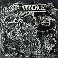 ABHORRENCE - Pestilential Mists (black & white backcover)