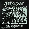 "UNHOLY GRAVE / AGATHOCLES - Agonies / No Gain, just Pain (7"" split EP)"
