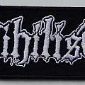 Nihilist - Patch - NIHILIST - Logo (embroidered)