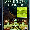SEPULTURA - Chaos DVD (DVD, compilation) Tape / Vinyl / CD / Recording etc