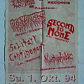 AGATHOCLES - Live in Wermelskirchen (poster)