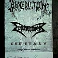 BENEDICTION - World Violation 1993 (poster, A2)