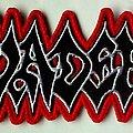 Vader - Patch - VADER - Logo, new (embroidered)
