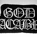 God Macabre - Patch - GOD MACABRE - Logo (embroidered)