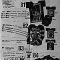 Bolt Thrower - Other Collectable - Millennium Merchandise - A4 sized flyer (Bolt Thrower merch)