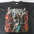 Incantation - TShirt or Longsleeve - Incantation Onward to Golgotha 1994 Euro Tour shirt