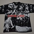 Cannibal Corpse 1993 all overprint TShirt