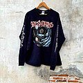 Fleshgrind - TShirt or Longsleeve - Vtg.1997 Fleshgrind Album Destined for defilement Tshirt