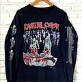 Cannibal Corpse - TShirt or Longsleeve - Vtg.Cannibal corpse Butchered at birth American tour 1993 LS t shirt Shirt