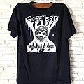 """Gorefest - TShirt or Longsleeve - Vtg.1990 Gorefest Promo 1st Demo """"Tangled in Gore"""""""