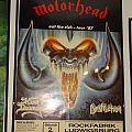 "Motörhead ""Eat the rich tour ´87"" Concert Poster Rockfabrik"
