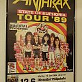 "Anthrax ""State of Euphoria Tour ´89"" Germany (Poster)"