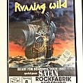 "Running Wild ""Ready for Boarding Tour 1987"" (Poster & Ticket)"