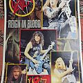 Slayer POSTER Reign in blood 1987