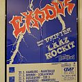 Exodus - Other Collectable - Exodus, Drifter & Laaz Rockit 1987 German Tour (Poster)