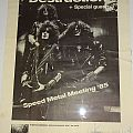 "Destruction - Other Collectable - DESTRUCTION ""Speed Metal Meeting ´85"" (Poster)"