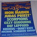 "Iron Maiden - Other Collectable - WANTED ""Rock Pop in Concert 1983"" (POSTER)"