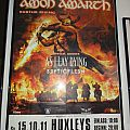 "Amon Amarth - Other Collectable - Amon Amarth ""Surtur Rising - Europe autumn 2011"" (Poster)"